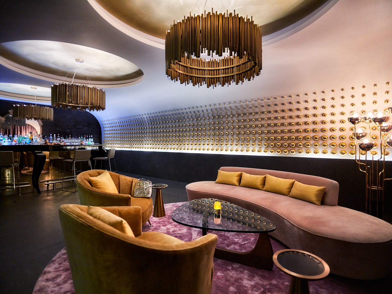 Kevin Steele - a hip lounge and nightclub interior