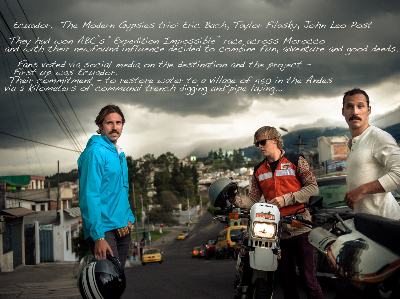 Kevin Steele - still from a documentary filmed in Ecuador