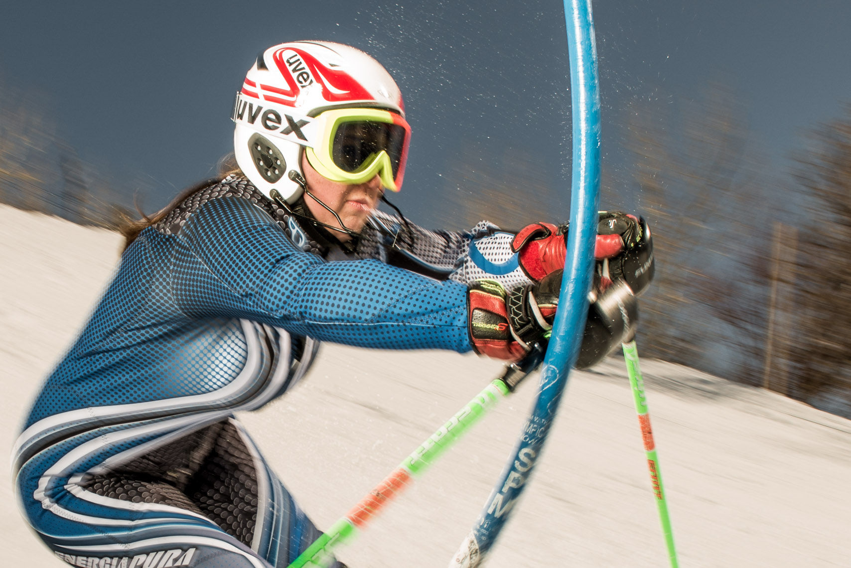 Kevin Steele - ski racers train in Colorado
