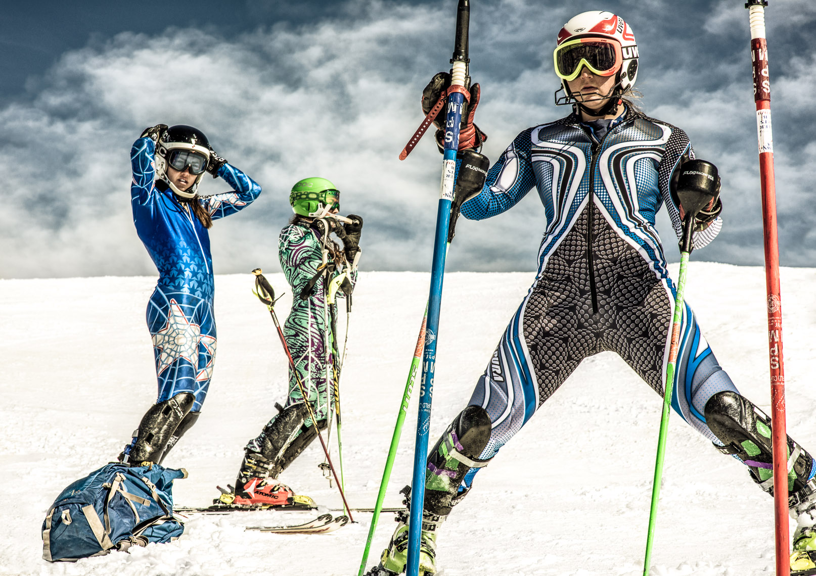 Kevin Steele - winter athletes and ski racers get ready